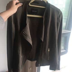 blazer and long coat